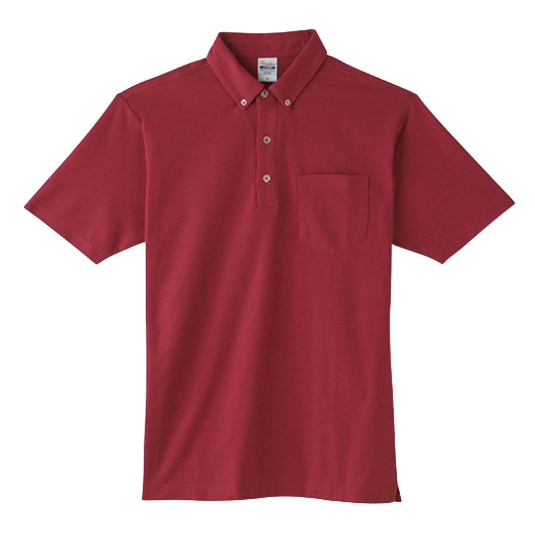 刺繍ポロシャツ 00198-BDQ