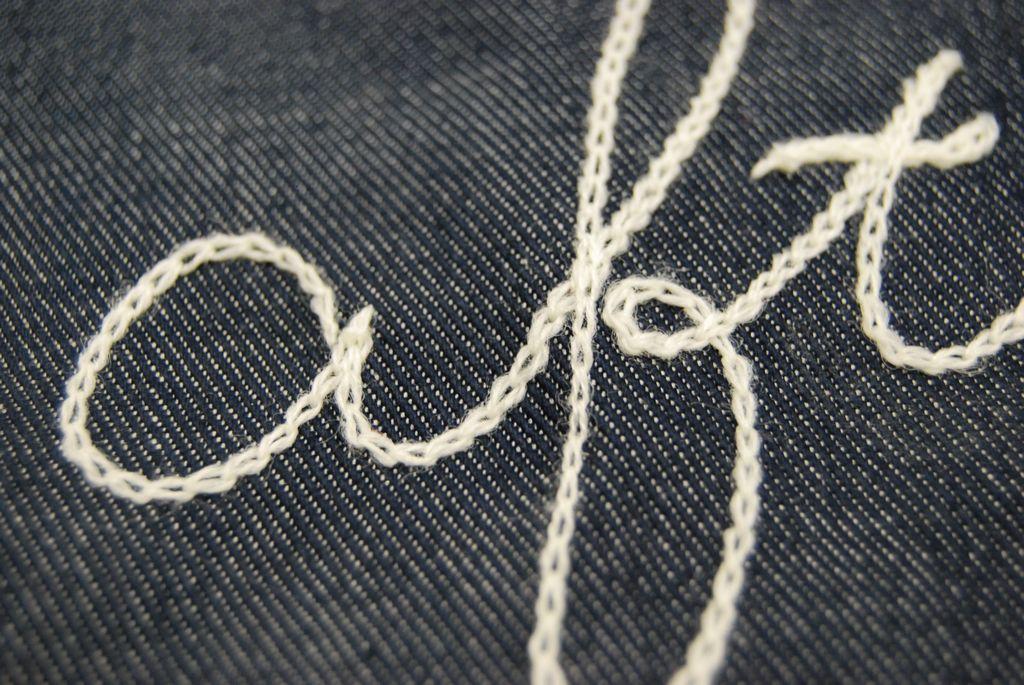 ステッチ刺繍