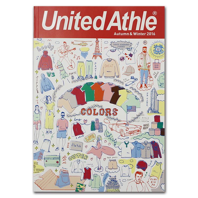 刺繍屋 カタログ United Athle