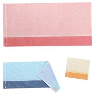 刺繍/今治タオル:リバーシブルカラー~サイズバリエーション