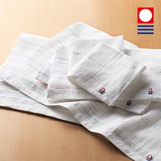 刺繍/今治タオル:ソフトワッフルガーゼ