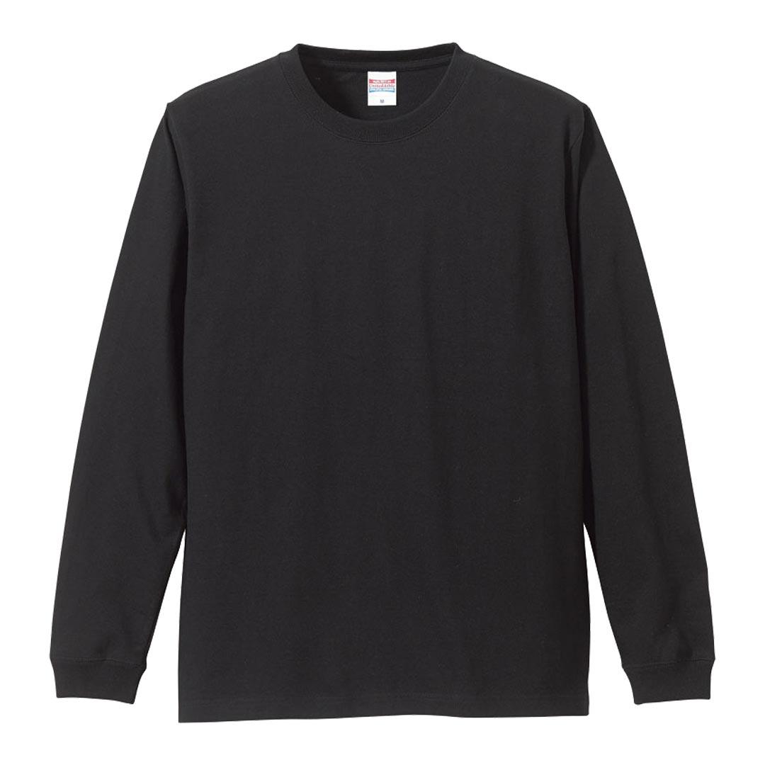 5011-01 刺繍ロングスリーブ Tシャツ