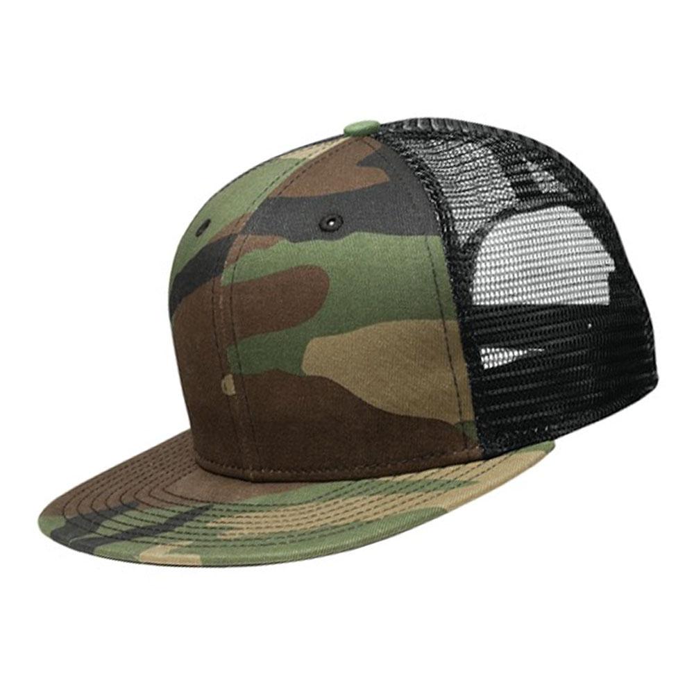 帽子 刺繍 スナップバックメッシュキャップ NE403